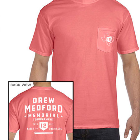 Drew Medford Coral Shirt